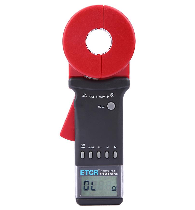 ETCR2100A+钳形接地电阻测试仪