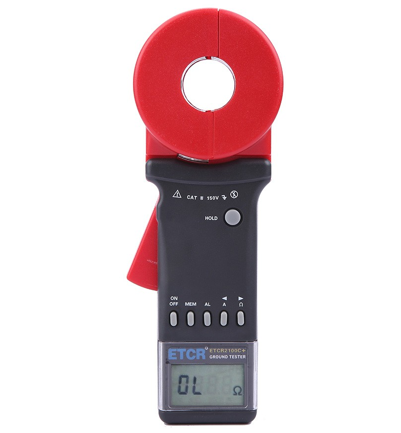 ETCR2100C+ Multi-Function Clamp Earth Resistance Tester-ETCR