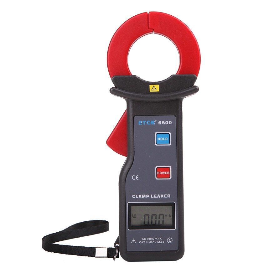 ETCR6500系列高精度钳形漏电流表 - 依泰电子 - 广州市铱泰电子科技有限公司