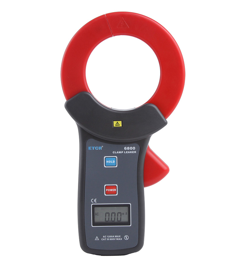 ETCR6800 High Accuracy Clamp Leakage Current Meter