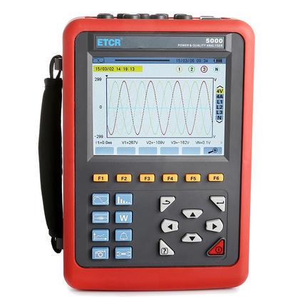 ETCR5000 Power Quality Analyzer