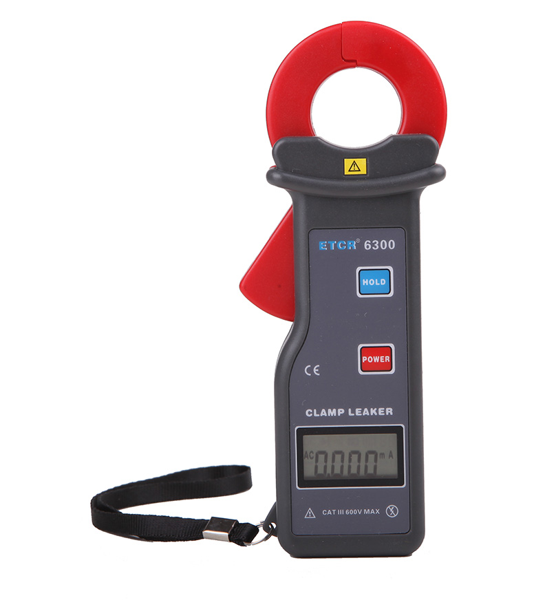ETCR6300 Clamp Leakage Current Meter