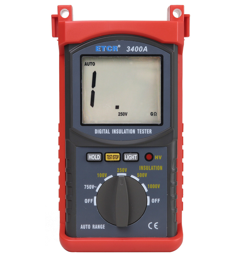 ETCR3400A绝缘电阻表
