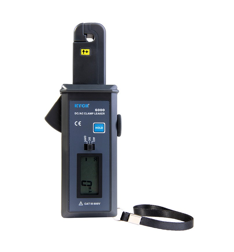 ETCR6000 AC/DC Clamp Leakage Current Meter-ETCR