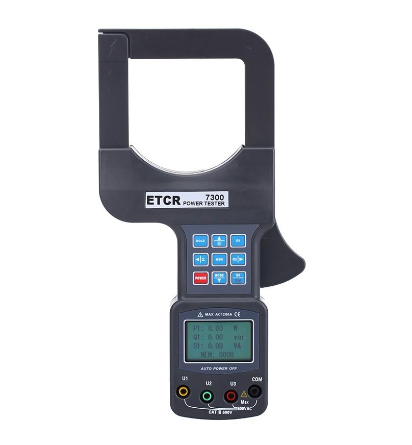 ETCR7300大口径三相钳形功率表-钳形电流表-铱泰电子科技