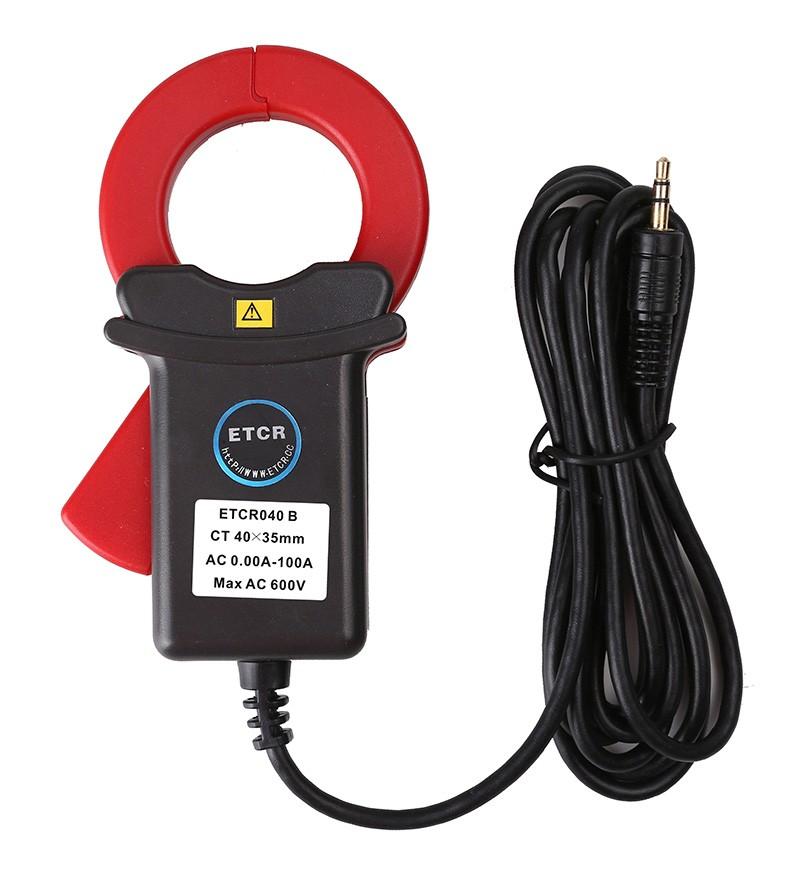 ETCR040B钳形漏电流传感器-钳形电流传感器-铱泰电子科技