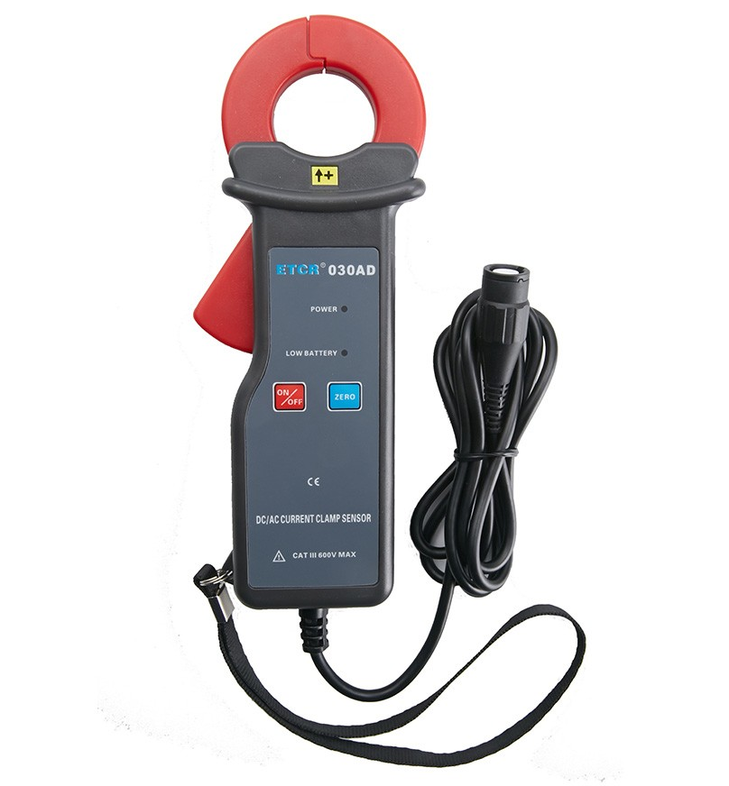 ETCR030AD交直流钳形漏电流传感器-钳形电流传感器-铱泰电子科技