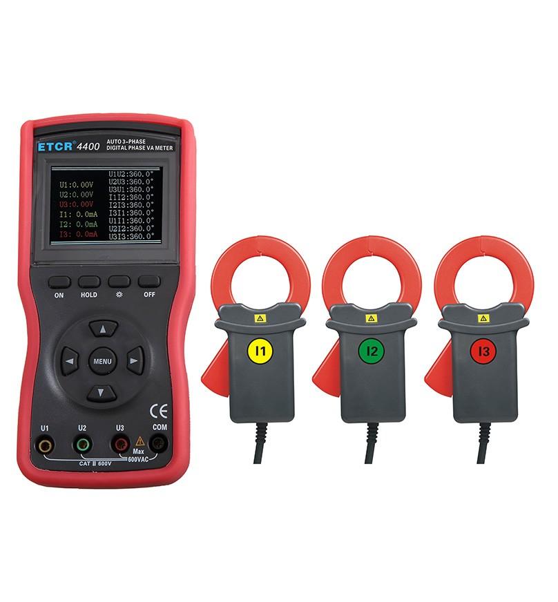 ETCR4400三相数字相位伏安表-电力测试仪表-铱泰电子科技