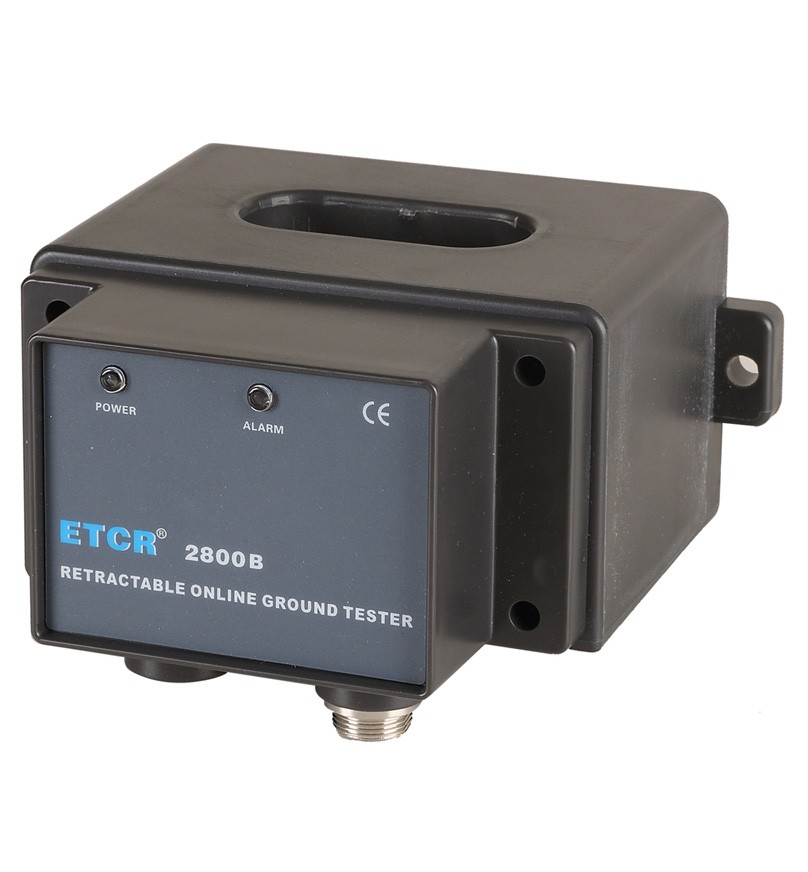 ETCR2800B Non-Contact Grounding Resistance Online Detector