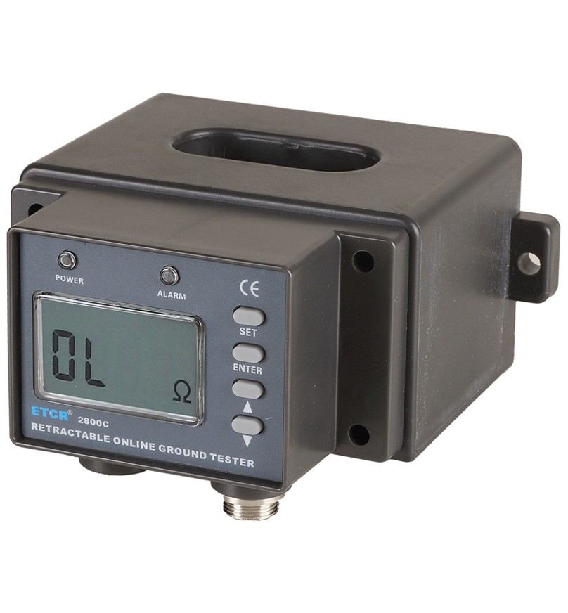 ETCR2800C Multifunction Non-Contact Grounding Resistance Online Detector