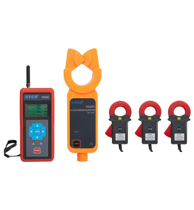 ETCR9500C Three-channel Wireless High-voltage Ratio Tester